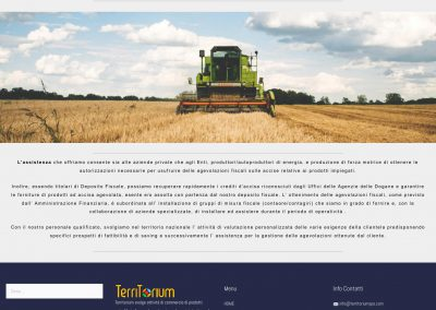 Territorium - Energy Production - Homepage Tablet
