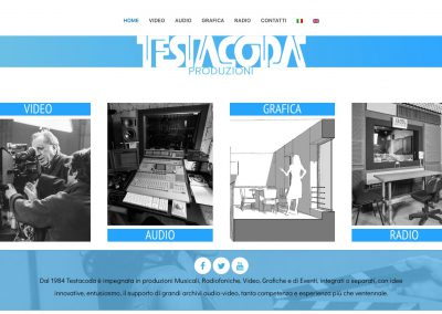 Testacoda - Multimedia Production - Homepage