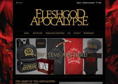 Band Online Shop
