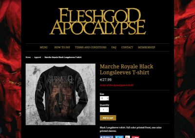 Band Online Shop - Product