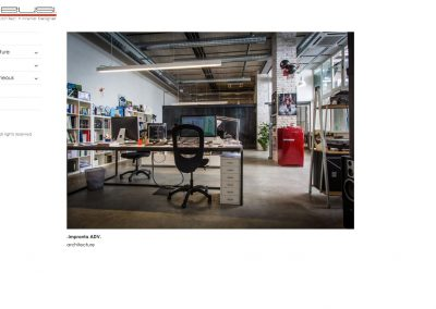 Homepage Display - Architect/Designer