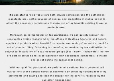 Energy Production Company - Homegape - Phone
