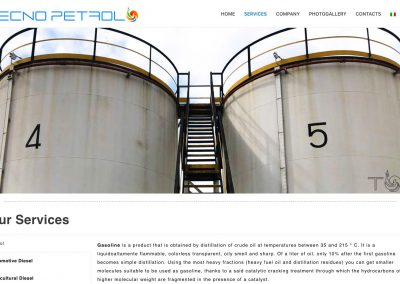 Fuel Production Company - Services