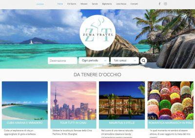 Travel Agency Homepage