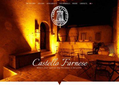 Castello Farnese, historic location for events